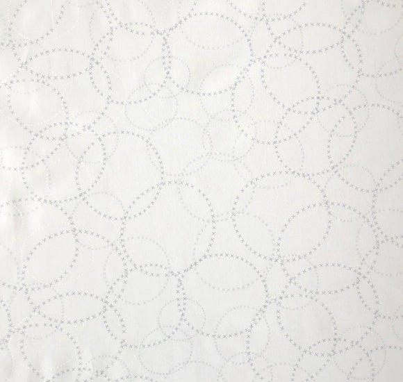 Modern Background Paper, XOXO, Silver/White