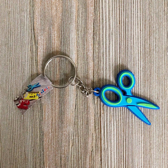 Sewing Key Ring, Scissors