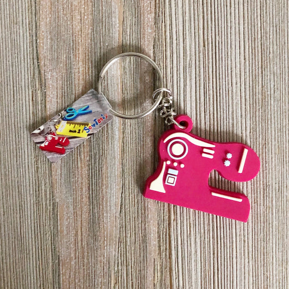 Sewing Key Ring, Sewing Machine