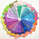 Tula Pink's True Colors, Fat Quarter Bundle