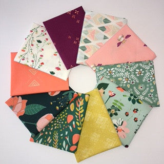 Garden Dreamer, Greenhouse Dawn, Fat Quarter Bundle