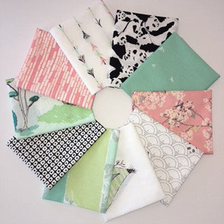 Pandalicious, Bao Bao Sweet, Fat Quarter Bundle