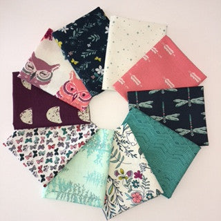Nightfall, Moonset, Fat Quarter Bundle