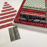 Strippy Forest Quilt Kit
