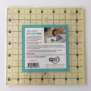 Quilter's Select 6.5 X 6.5 Inch Ruler