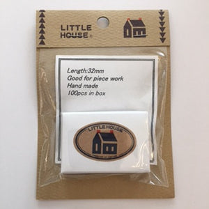Little House Glass Head Pins, Refill