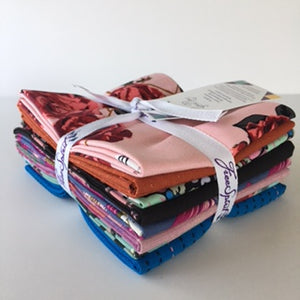 Floral Retrospective Fat Quarter Bundle - Berries