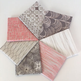 Quiet Moments, Mother of Pearl, Fat Quarter Bundle