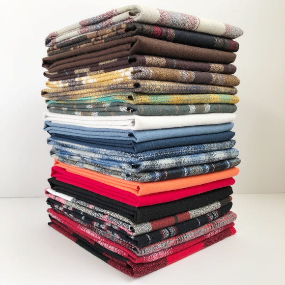 Mammoth Flannel, Fat Quarter Bundle
