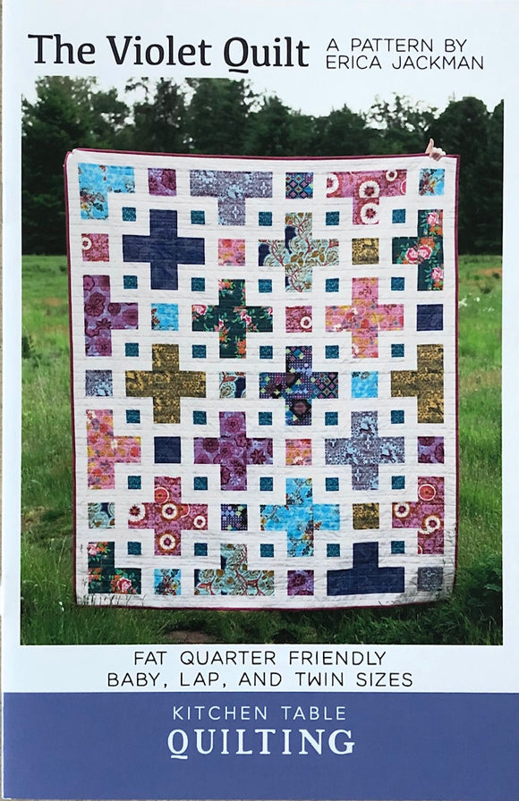 The Violet Quilt Pattern