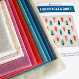 Firecracker Quilt Kit, w/Pattern