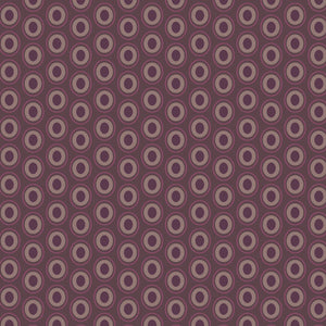 Oval Elements, Prune Brown