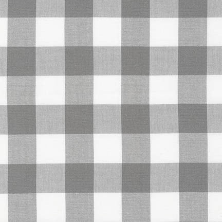 Carolina Gingham Grey 1