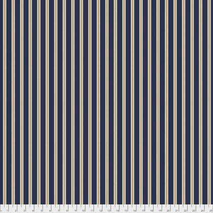 Morris & Co, Kelmscott, Gilt Stripe, Navy