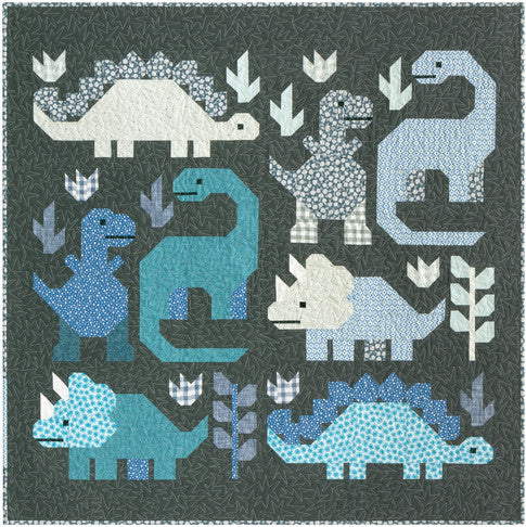 Dinosaurs Quilt Kit, Small