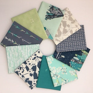 Pandalicious, Tian Tian Breeze, Fat Quarter Bundle