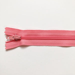 "Zipper, 14"", Pink Frosting"