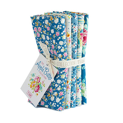Apple Butter, Blue,  Fat Quarter Bundle