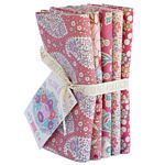 Plum Garden, Peach, Fat Quarter Bundle