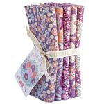 Plum Garden, Plum, Fat Quarter Bundle