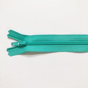 "Zipper, 14"", Tahiti Teal"