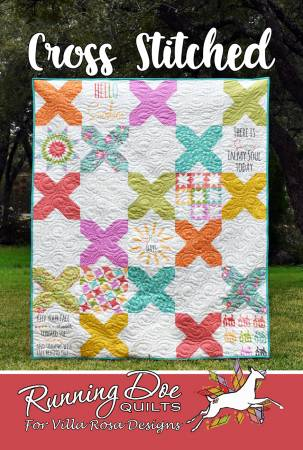 Crossed Stitched Quilt Pattern