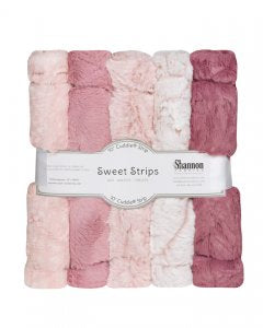 Luxe Cuddle,  Sweet Strips, Rose