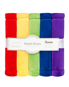Sweet Strips, Solid Cuddle, Rainbow