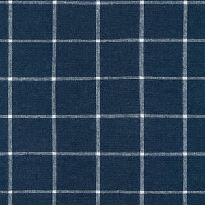 Essex Yarn Dyed Classic Wovens, Indigo, Plaid