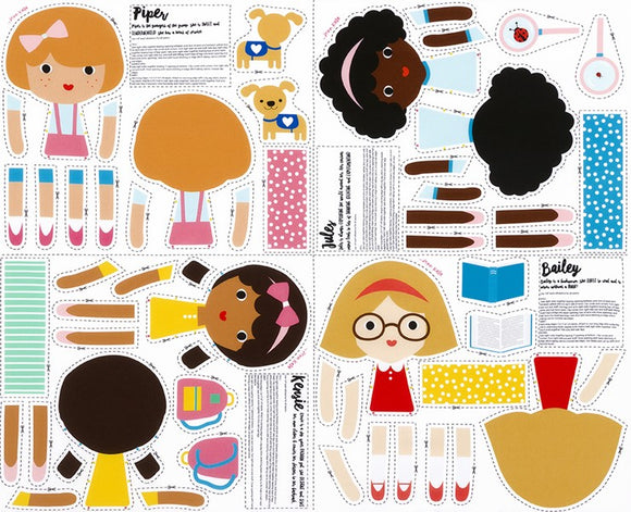 Girl Friend Doll Panel Kit