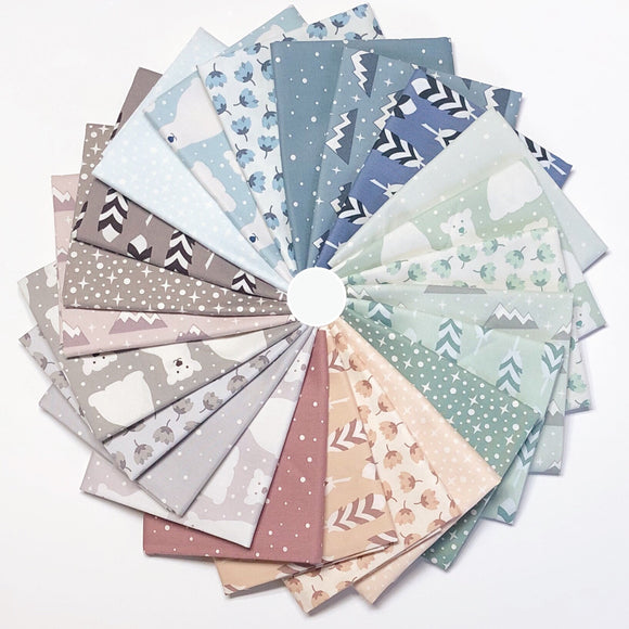 Arctic, Fat Quarter Bundle