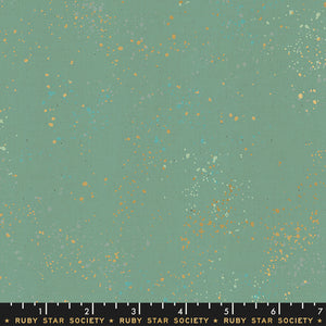 Speckled Metallic, Soft Aqua