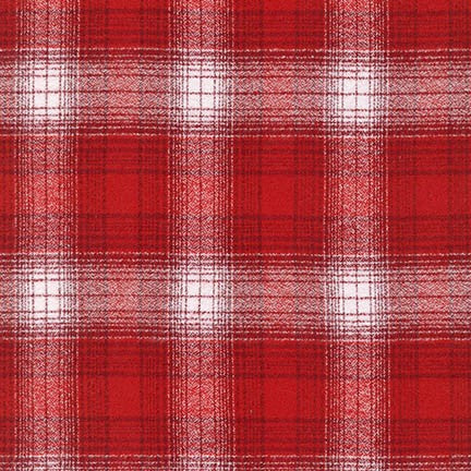 Mammoth Flannel, Red