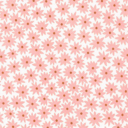 Flower Dots, Peach