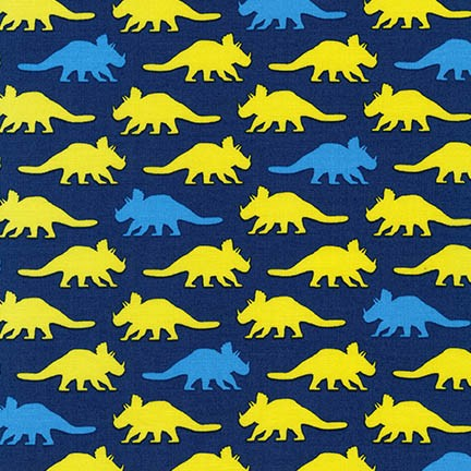 Prehistoric Pals, Triceratops, Navy