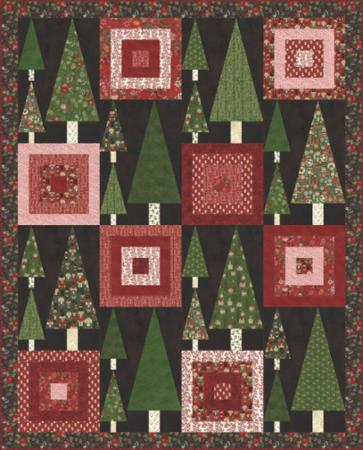 Trees and Tops Quilt Kit