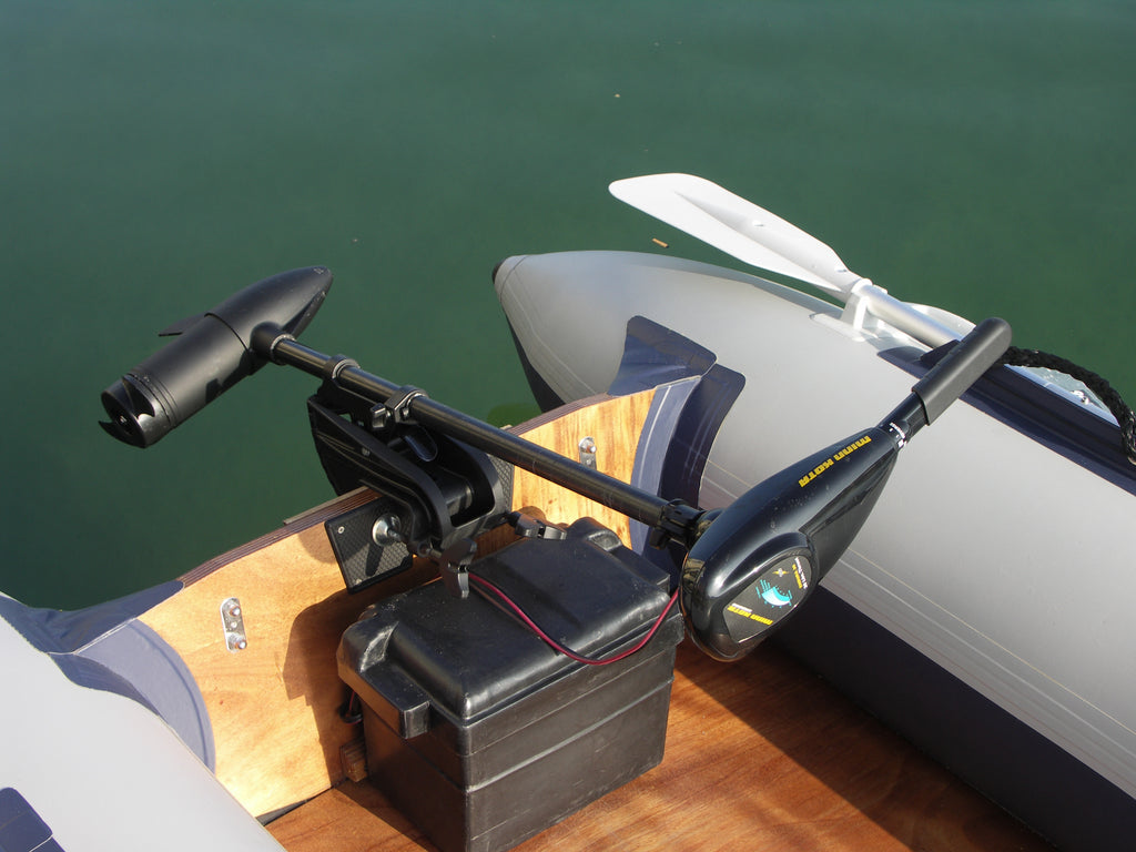 Selecting a Shaft Length for Transom Mount Trolling Motors