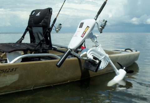Island Hopper Motor Mount/Trolling Motor Combo for Ascend FS10T Kayaks