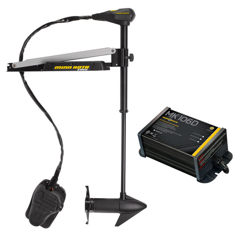 "Minn Kota Edge 55/FC-45"" L&D w/Free MK 106D On-Board Charger - [price] 