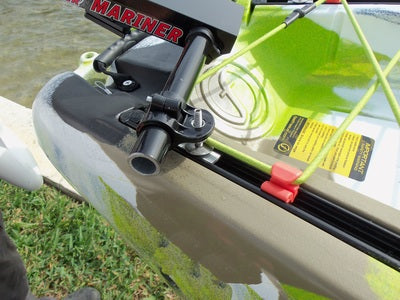 Island Hopper Transom-Mount Motor for FeelFree Lure, Moken, and Move Kayaks (except Lure 13.5 and Moken 14.5) without Rudder Systems