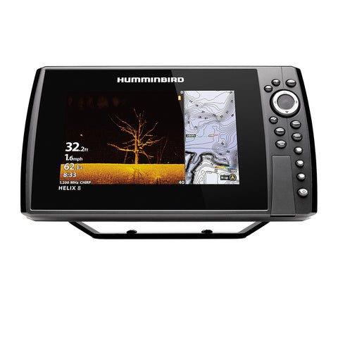 Humminbird HELIX 8® CHIRP MEGA DI GPS G4N CHO Display Only