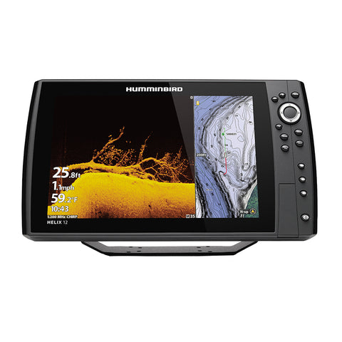 Humminbird HELIX 12® CHIRP MEGA DI+ GPS G4N CHO Display Only