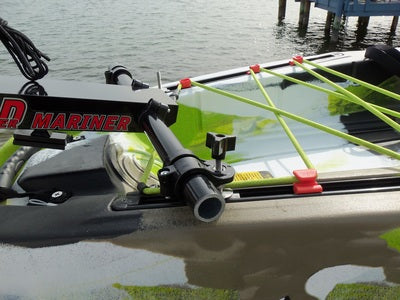 Island Hopper Transom-Mount Motor for FeelFree Lure 13.5 and Moken 14.5 Kayaks with Rudders