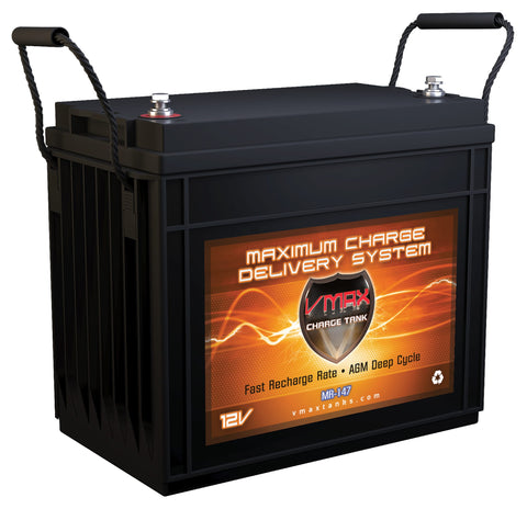 MR147-155 12V 155Ah AGM Deep Cycle Battery - 2,062WH - [price] | Trolling Motors Online