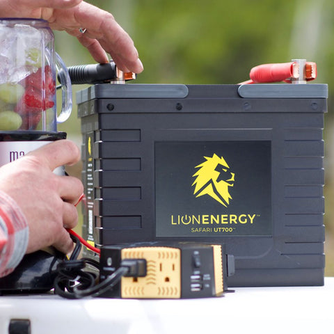 Lion Energy Safari UT™ 700 12V 56ah Lithium Battery