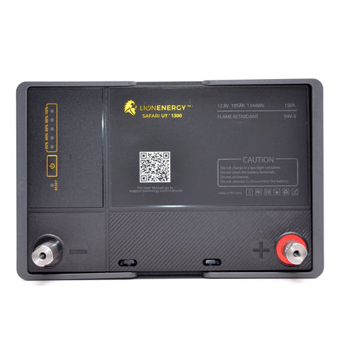Lion Energy Safari UT™ 1300 12V 105ah Lithium Battery