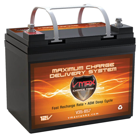 V35-857 Group U1 12V 35Ah AGM Deep Cycle Battery - 466WH - [price] | Trolling Motors Online