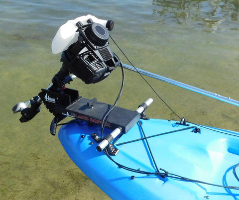Island Hopper Honda® 35cc (2.5hp) Gas-Powered Transom-Mount Kayak Motor