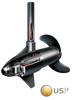 Image of Minn Kota PowerDrive 55/US2 Freshwater, Bow-Mount, i-Pilot, Wireless Remote, Electronic Steering, Universal Sonar - 12V-55lb-54""