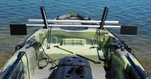 Island Hopper Deluxe Motor Mount for Vibe Sea Ghost, Skipjack, and Yellowfin Kayaks